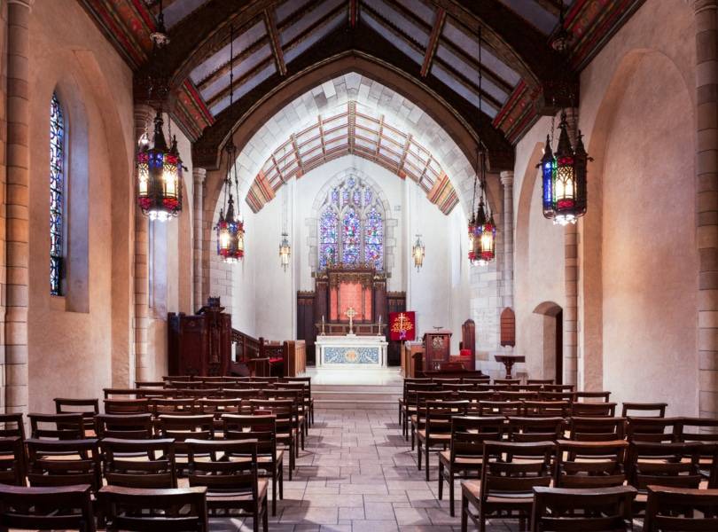 The Sears Chapel at the First Parish Church in Weston