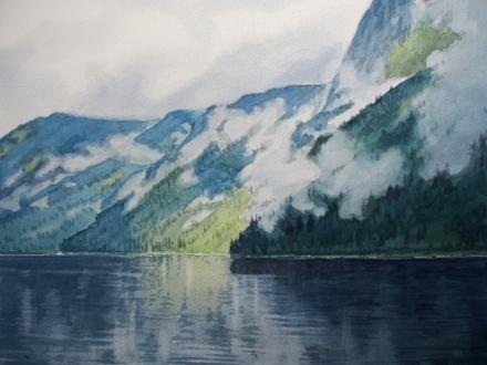 Misty Fjord 1 by Paul Dudek