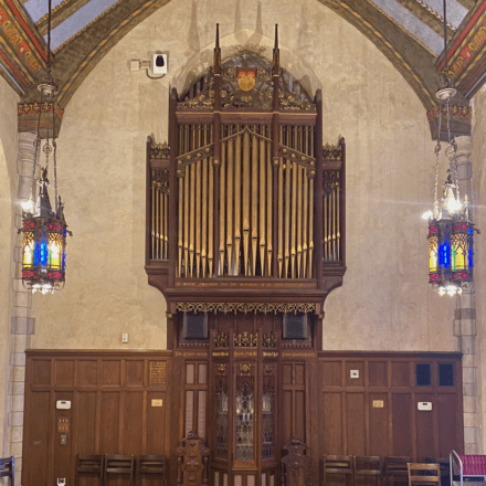 First Parish Weston Chapel Pipe Organ