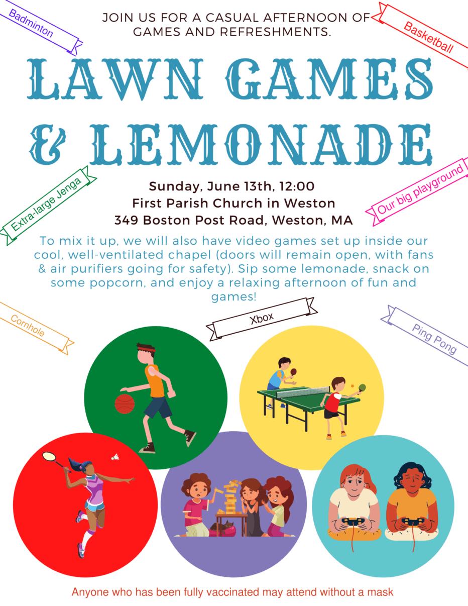 Lawn Games & Lemonade